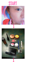 BANBA MAKE-UP Tutorial. by swingingnippon