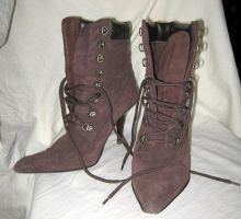 steampunk boots 4 by Meltys-stock