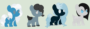 Shiver and Weather Mix Foals- One Left! by PyscoSnowflake