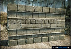 Aztec Wall by Mellon3D