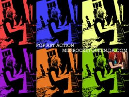 Pop Art Action by missrocketqueen
