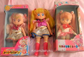 Sailor Moon Baby Dolls by Super-Moogles