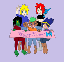 Happy Easter by Angel-of-Fire-Shin