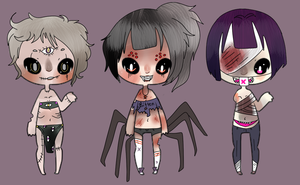 32. Creepy and Eerie Adopts CLOSED by coolkatadopts