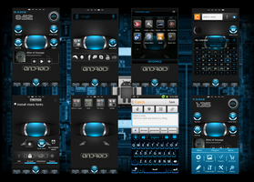 March Android, All Screens. Blooness by Rasa13