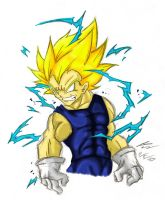 M Vegeta_Colored by Nei-Ning