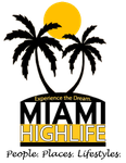 Miami Highlife Logo by OffBeatGenius
