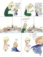 2p!DenNor: Cookies: Punishment by TheClockworkKid