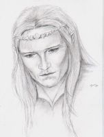Young Legolas2 by Powerfulwoodelf