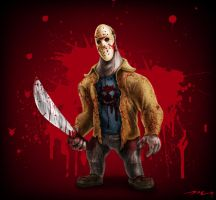 Jason Vorhees by MookFall