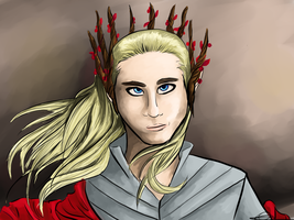 Thranduil King Of Mirkwood by Daft--Art