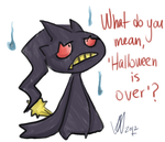 Banette quick painting by GothicHikage