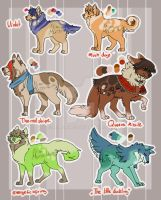 Adopt: Sparkle Doges [Open] by Maro-King