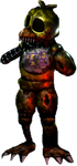 Sinister Turmoil Sinister Ignited Chica Full Body by fnatirfanfullbodies