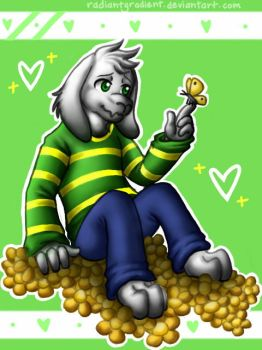Asriel by RadiantGradient