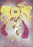 Angewomon II by G-gG
