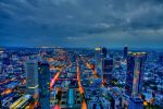Above Frankfurt am Main by clionen77