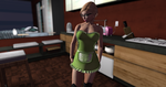 The Green Maid in the Kitchen by EmDebevec