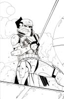 Airborne Trooper by ragelion