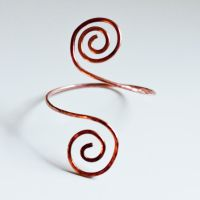 Copper Armring by MirielDesign