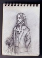 Sketch -Vampire- by Sephiroth-Art