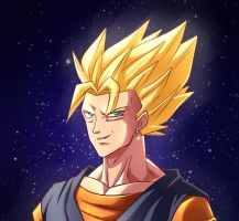 Super Vegito by lilip25