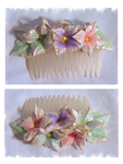 Hydrangea Hair Comb by EruwaedhielElleth