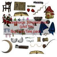 Fairy tale items by 3DigitalStock
