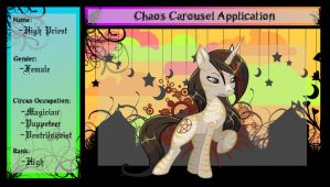 Chaos Caroussel Application by beu50