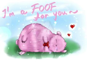 I'm a FOOF for you ~ by YamiLegendRider