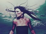tarja turunen wallpaper by LadyMoondance