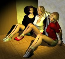 Nancy Drew and Friends by detstyle