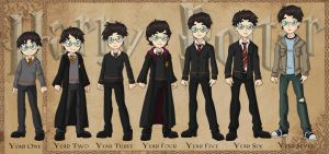 Harry Potter Timeline by Glee-chan