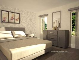 3D Bed Room by bluemo0on