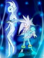 Request: Astral and Silver the hegdehog by AquaAngel1010