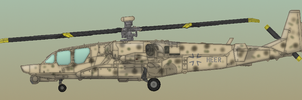 German Ka-53 II: desert camo by Jeremak-J