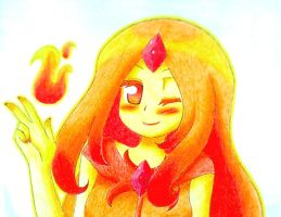 Flame Princess by Matsy23