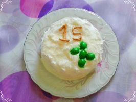 DA 15th Birthday Cake by Mrs-Freestar-Bul