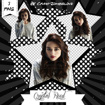 Crystal Reed Png Pack by Crazy-Zombielove