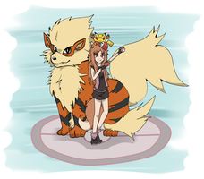 Pokemon Trainer Holo would like to battle by blayzeon