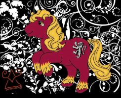 My Little Pony-Gryffindor-or.. by HogwartsArt
