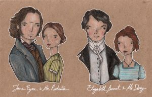 jane eyre / pride and prejudice by Endofmarch