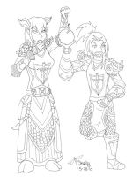 guild - dre and deri by percylove