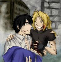 FMA: Holding On FIN by TheMadWoman-Ellie