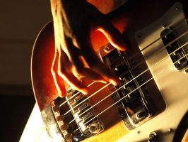 Bass Guitar by trencapins
