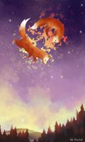 Magic Foxes by AnnHimchak