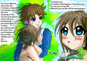 I will Protect You Harvest Moon Innocent Life by Valcristsan
