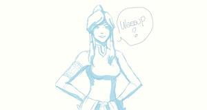Quick Korra by Val4s-san