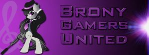Brony Gamers United by ZeroBeatsBlue