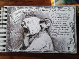 Artist Journal Sketch by MarkRHansen
